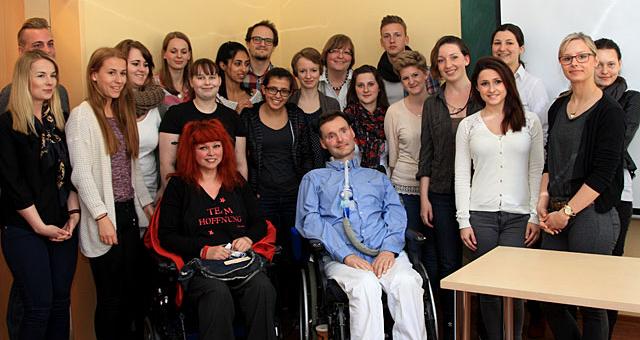 Vortrag an der Gesundheits- und Krankenpflegeschule am Evangelischen Krankenhaus Alsterdorf, 21.04.2015
